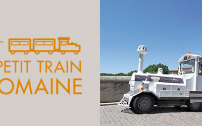 Nouveau site pour le Petit Train de Vaison-la-Romaine