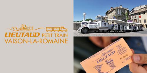 New website for the Vaison-la-Romaine Tourist Train