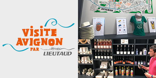 Opening of the Visite Avignon shop